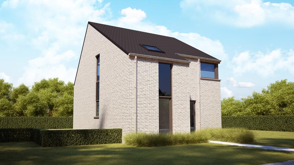 Nieuw te bouwen energiezuinige woning in Herne