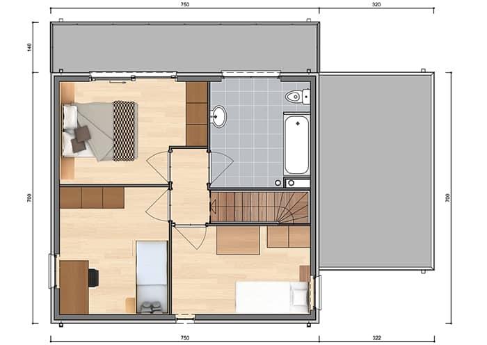 Nieuwbouwwoning te bouwen in Kuurne