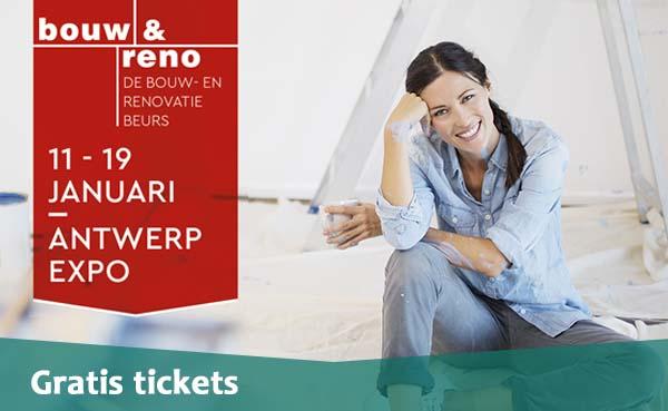 Kijk & Bouw nodigt u uit op Bouw & Reno 2020 met gratis tickets.