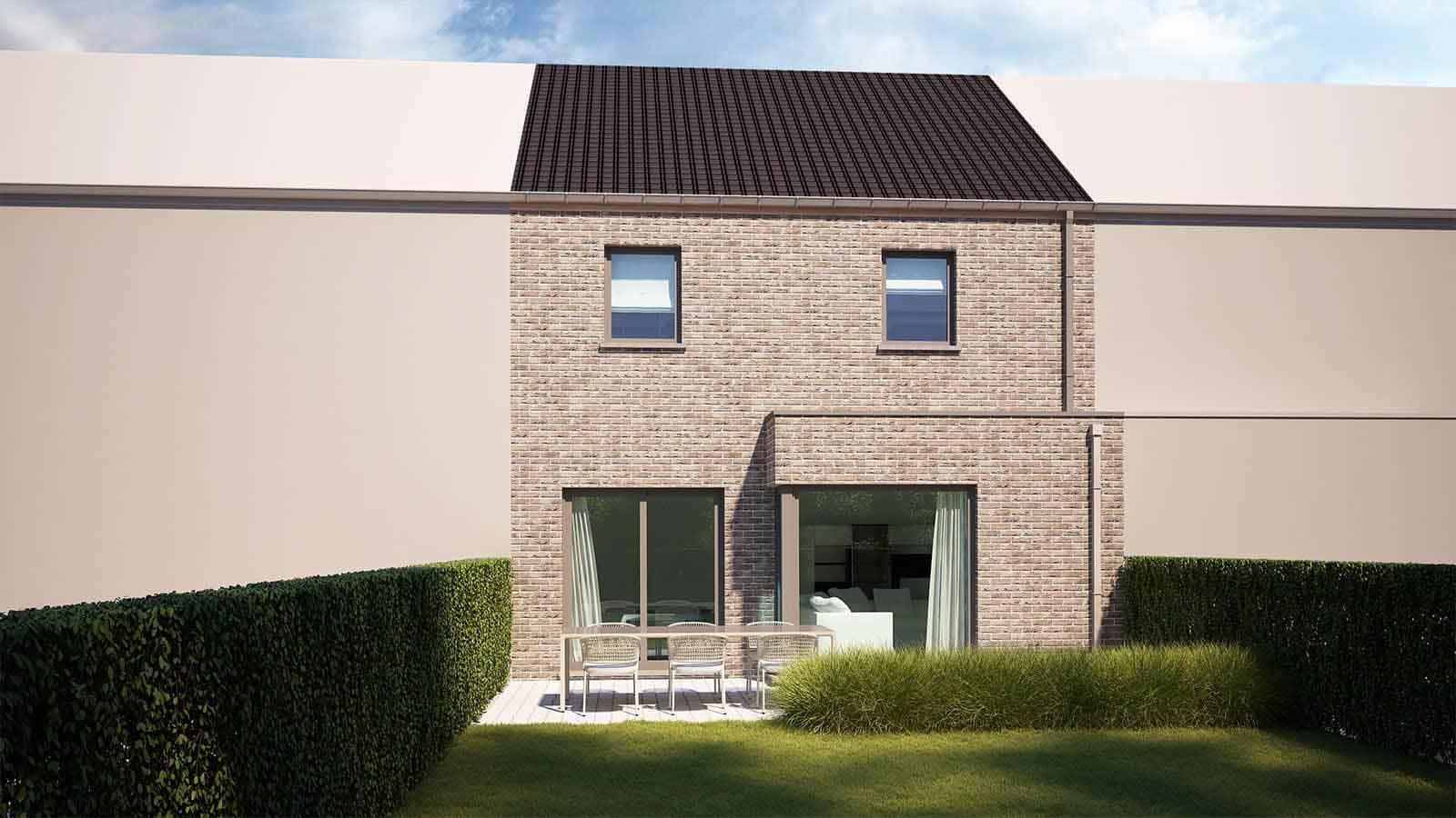 Bouwproject voor Ben woning in Sint-Pieters-Leeuw